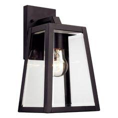 Milesburg 1-Light Outdoor Wall Lantern $73