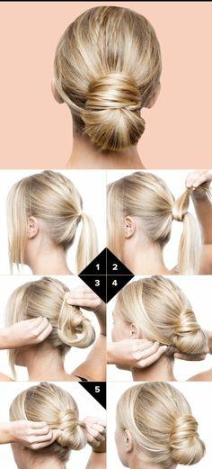 60 idées coiffures et chignons bas faciles à faire en 10 minutes !
