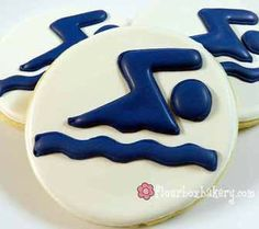 Swimming Cookie Favor