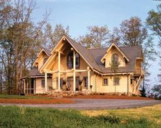 Rustic Country House Sitka Log Home Plan 0021 Plans Log Home Plans, Cabin House Plans, Country House Plans, Modern House Plans, Rustic Home Plans, Log Home Designs, Log Home Decorating, Decorating Ideas, House Plans And More