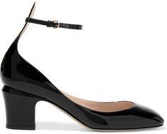 Valentino - Tango Patent-leather Pumps - Black [affiliate]