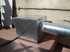 Ventilador  extracción.