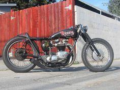 Triumph Rat-Bike Bobber