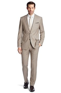 Costume business laine vierge, Huge2/Genuis1, Beige Hugo Boss, Beige, Single Breasted, Suit Jacket, Costumes, Suits, Business, Model, Prince