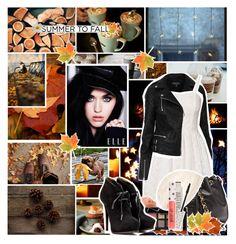 """Summer to Fall: Moto Jackets♥"" by kittycatens ❤ liked on Polyvore featuring Topshop, Vero Moda, Chanel, NARS Cosmetics, Cara, Lanvin, Oris, motojacket and summertofall"