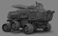 ArtStation - MEV 02 - Mars Exploration Vehicle, Igor Sobolevsky