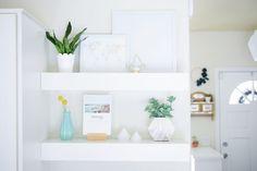 Modern Floating Shelves - Mr. Buildit