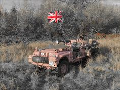 SAS LAND ROVER series pink Panther David Stirling, Battle Of Crete, 4x4, Leading From The Front, Chain Of Command, Off Road, Pink Panthers, Land Rover Defender, Military Vehicles