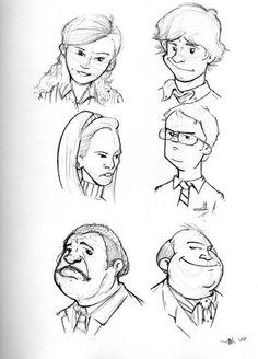 The Office headshots by happyfestivus | #TheOffice