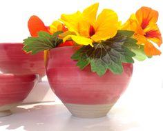 Round Soft Rose Vase
