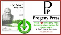 {Crew Review} Progeny Press: The Giver Study Guide #hsreview #homeschool | thissweetlifeofmine.com