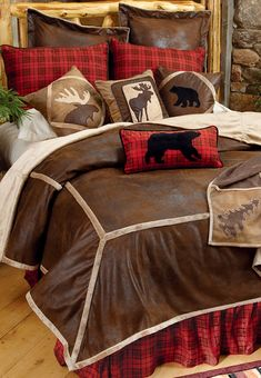 Northwoods Wilderness Lodge Bedding