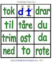 FredagsKilden: NORSK - Undervisningsmateriell 1-17 Bingo, Language, Education, Tips, Montessori, Teaching Ideas, First Class, Advice, Teaching