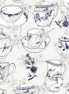 Lovely sketch pattern