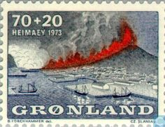 Greenland - Heimaey Eruption 1973
