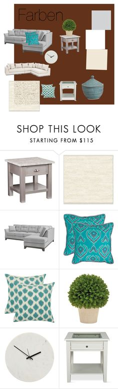 """Untitled #5"" by krisztina-marton on Polyvore featuring interior, interiors, interior design, home, home decor, interior decorating, West Elm, Safavieh, Holly's House and Southern Enterprises"