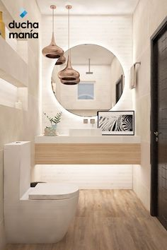 53 wonderful small bathroom remodel ideas on a budget in your home 1 Contemporary Bathroom Designs, Bathroom Design Luxury, Modern Bathroom Design, Laundry In Bathroom, Bathroom Renos, Small Toilet Room, Toilet Design, Aesthetic Room Decor, Amazing Bathrooms