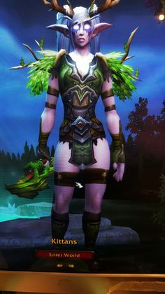 Kittans the Resto druid, I am so in love with my mog. ♡♡♡ #transmog #restodruid #worldofwarcraft