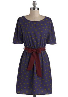 $52.99 We Got the Trunk Dress in Indigo, #ModCloth