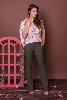 #debrummodas #coleção #calça #flare #blusa #floral #openshoulder #modafeminina #moda #fashion #style #estilo