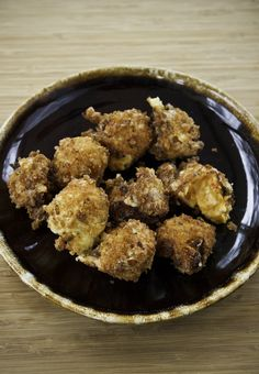 Fried Pimento Cheese Balls | via John McLemore's Dadgum That's Good, Too! cookbook #GameDay