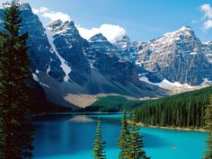 Banff National Park, Canada OMG I wanna go there!!