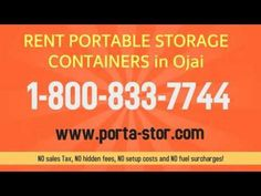 http:& Need to rent portable storage containers in Canyon Country California? Call Porta Stor and rent a portable steel container delivered to. Storage For Rent, Port Hueneme, Canoga Park, North Hollywood, Moving Tips, Storage Containers, Storage Solutions, Places, Ventura County