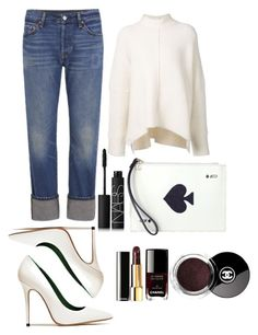 """""""Untitled #9"""" by majda1003 ❤ liked on Polyvore featuring Levi's, URBAN ZEN, NARS Cosmetics, Kate Spade, Acne Studios and Chanel"""