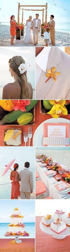 Beach Wedding Inspiration Round-Up