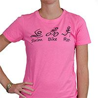 Is your life swim bike run repeat? Then you will love our Swim Bike Run (Figures tee) figuring artwork of stick figure athletes swimming, biking, and running. Our super soft cotton blend shirts are a fun, fashionable way to show off your love for running. #fitnessgear