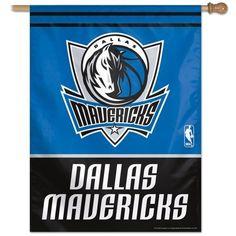 "Dallas Mavericks Vertical Flag 27"" x 37"""