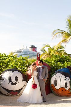 Sail Away With This Disney S Fairy Tale Wedding At Castaway Cay Fairytale Ending Pinterest And Cruise