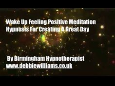 Wake Up Feeling Positive Hypnosis Meditation