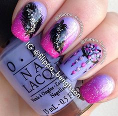 Dream catcher nail design ,