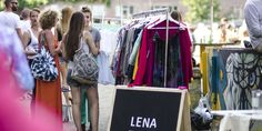 Leen nu je kleding bij de Amsterdamse kledingbibliotheek 'Lena the fashion library'