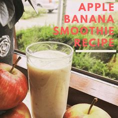 Apple and Banana Smoothie recipie: http://olivia-savannah.blogspot.nl/2016/12/apple-banana-smoothie-recipe.html