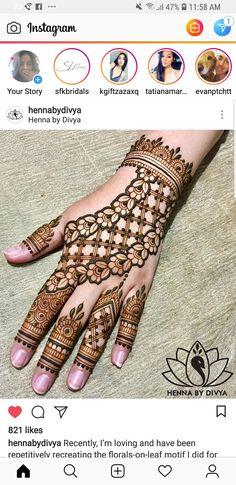 Mehandi designs Henna Art Designs, Stylish Mehndi Designs, Unique Mehndi Designs, Beautiful Mehndi Design, Bridal Mehndi Designs, Mehndi Designs For Hands, Dubai Mehendi Designs, Mehendhi Designs, Mehndi Desighn