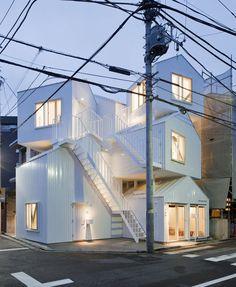 Tokyo Apartment by Sou Fujimoto Architect