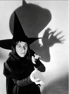"Margaret Hamilton aka ""The Wicked Witch of the West"""