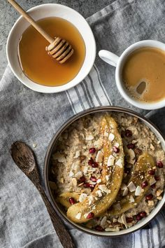 Morning Breakfast, Breakfast Ideas, Food Preparation, Brunch, Oatmeal, Easy Meals, Food And Drink, Yummy Food, Healthy Recipes