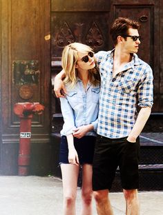 Emma Stone and Andrew Garfield are probably the cutest couple ever