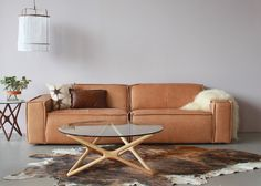 Edge 3 Seater Leather Sofa by FEST Amsterdam - Curious Grace