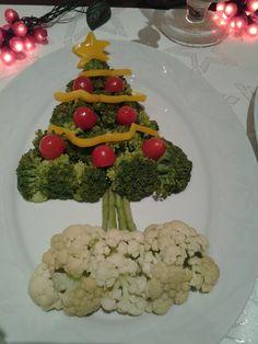 arvore de natal de vegetais!