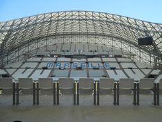 Bezochten het Stade Vélodrome in Marseille juli 2016!