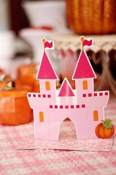 Pumpkin Princess DIY Birthday Party Ideas and decorations