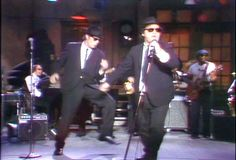 The Blues Brothers, Performing Soul Man on SNL, April 22, 1978.