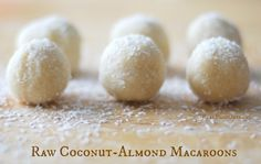Raw Coconut-Almond Macaroons {Paleo, Vegan}| Real Food Outlaws