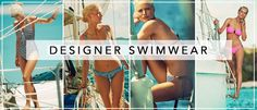 Temporary:Secretary | UK Fashion & Beauty Blogger: Designer Fashion: Heidi Klein Swimwear SS15