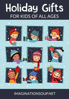 2019 Holiday Gifts for Kids of All Ages (STEM books play games arts & crafts) 2019 Holiday Gifts for Kids of All Ages (STEM books play games arts & crafts) Cool Gifts For Kids, Fun Games For Kids, Christmas Gift For You, Christmas Gifts For Kids, Christmas Time, Christmas Ideas, Holiday Gift Guide, Holiday Gifts, Stocking Stuffers For Kids