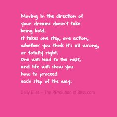 Live a life of your dreams. You can. It is easier than you may have been told. #therevolutionofyourbliss